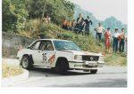 1984 Rallye Tre Laghi  N. Janda/H. Adler